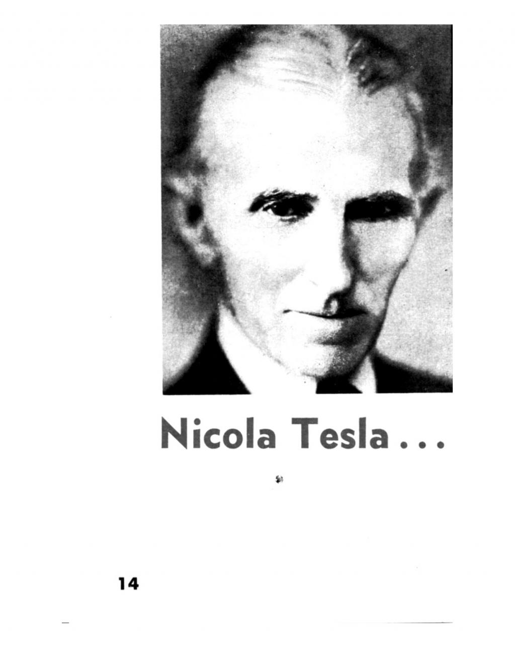 Preview of Nikola Tesla - The Man Who Invented Tomorrow article