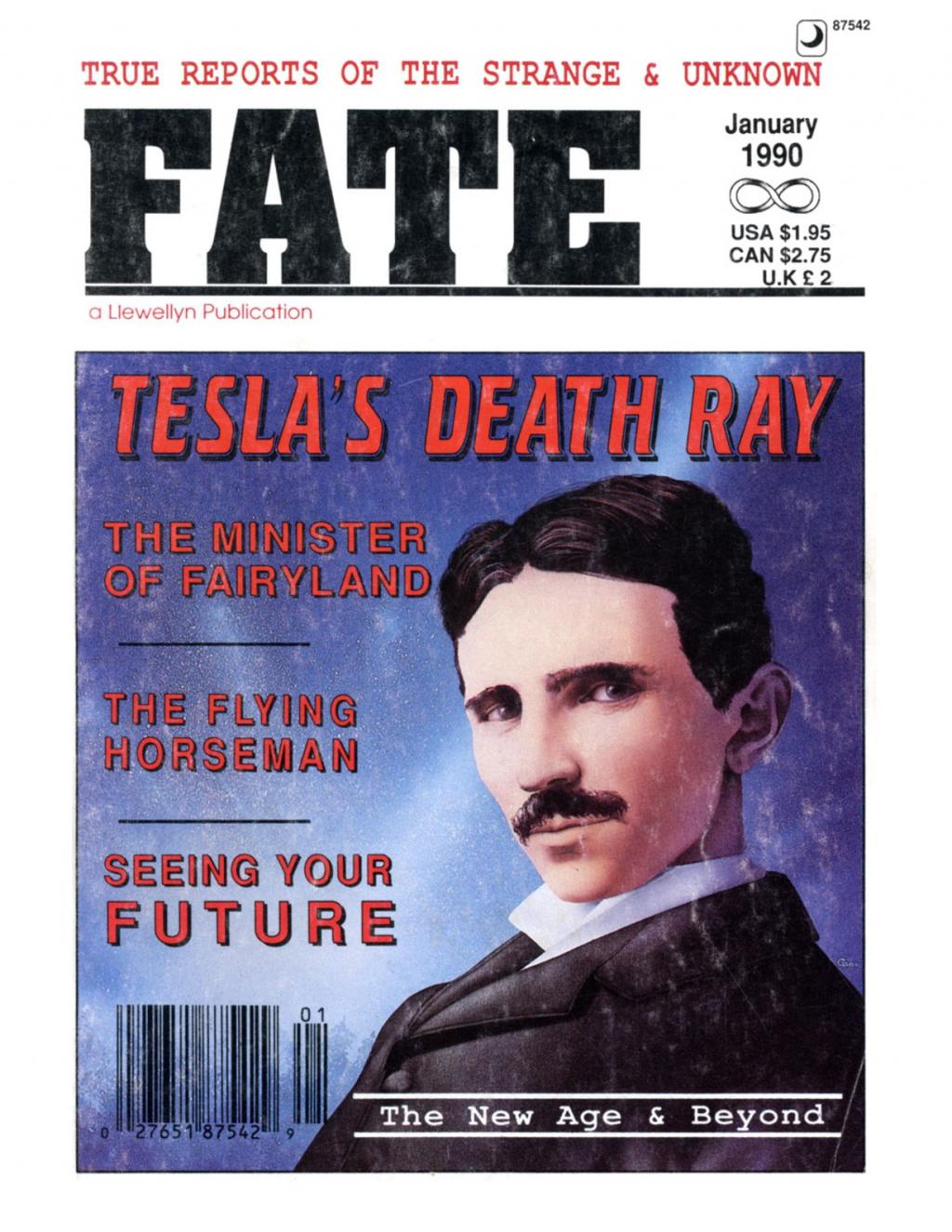 Preview of The Death Ray of Nikola Tesla article