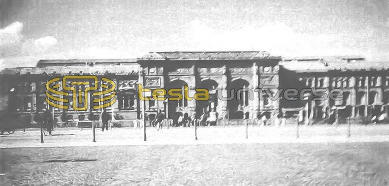 The Strasbourg railway station where Tesla likely travelled through when on assignment for Edison's company