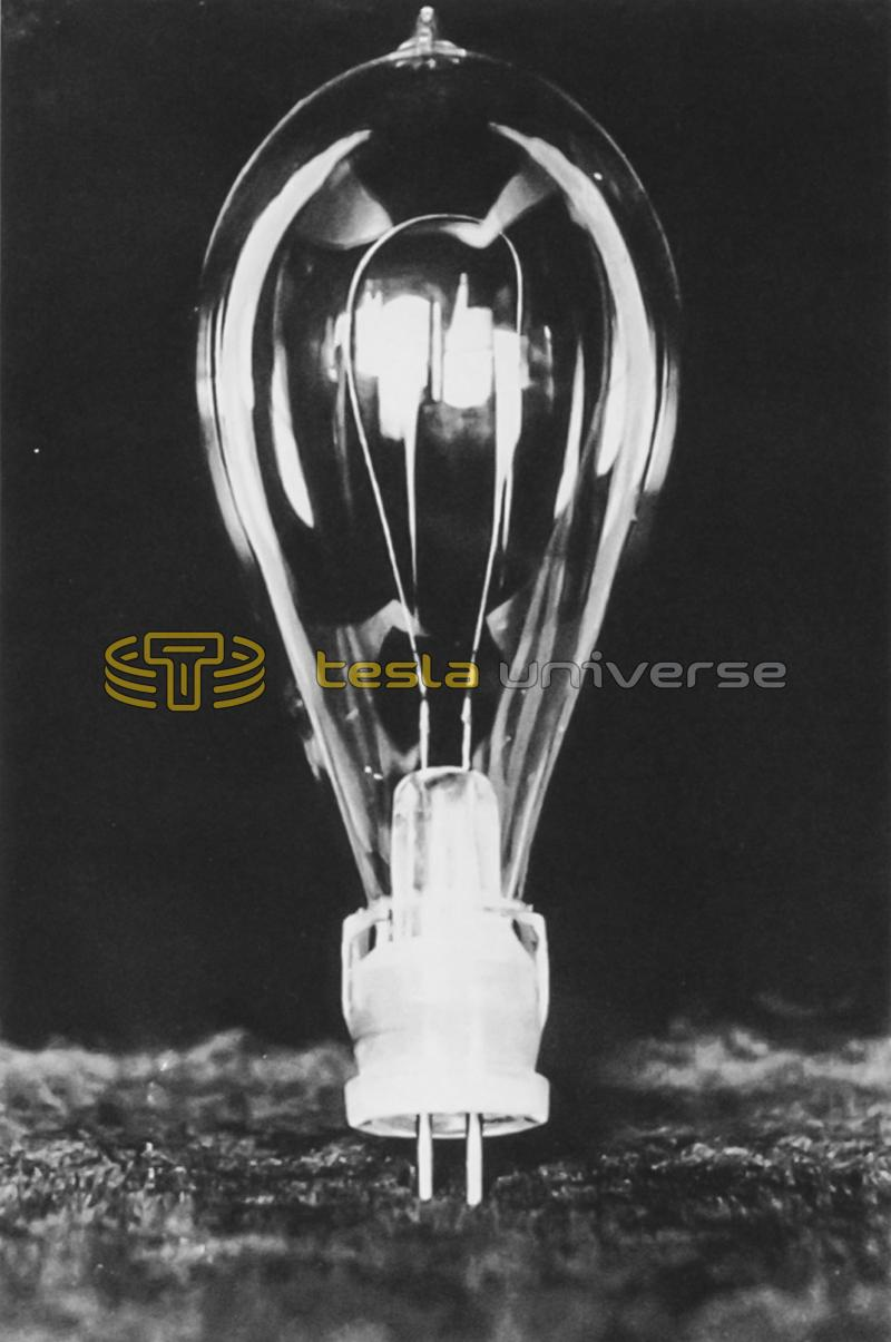 "The Westinghouse (Sawyer-Man) ""stopper lamp"" used at the World's Fair"