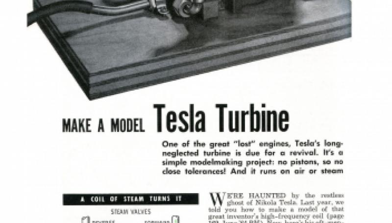 Preview of Make a model Tesla Turbine plan