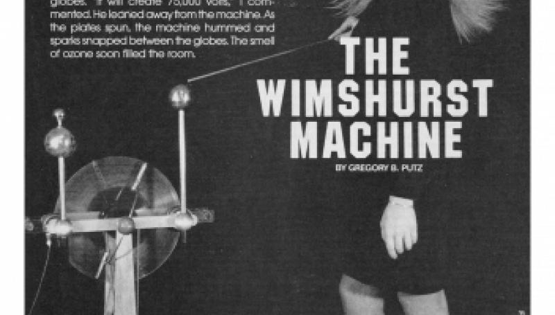 Preview of The Wimshurst Machine plan