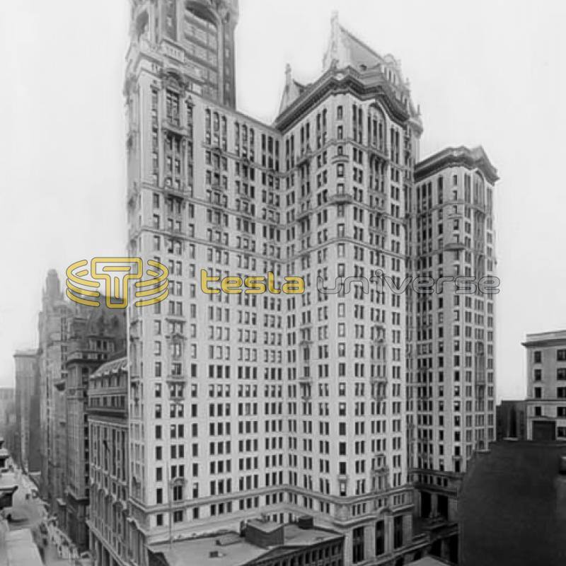 The City Investing Building, New York City where Tesla once had an office