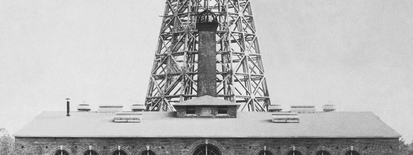 Tesla's Wardenclyffe Tower and Laboratory
