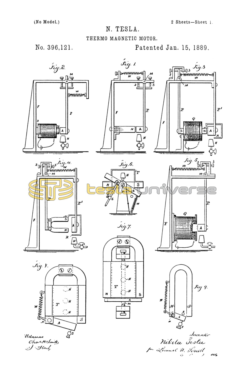 Tesla Magnetic Motor Plans - Newletterjdi co