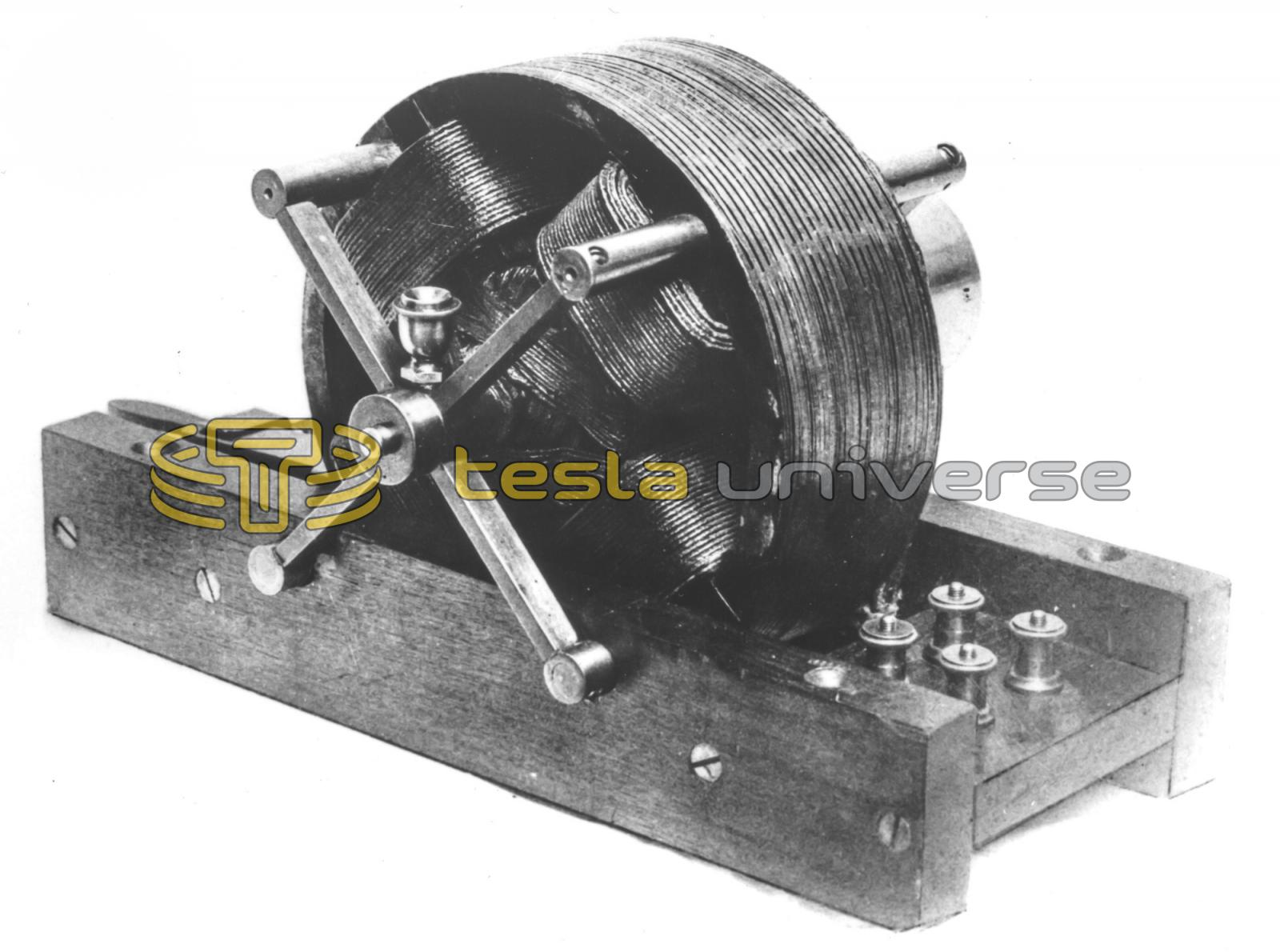 The First Nikola Tesla Alternating Cur Induction Motor
