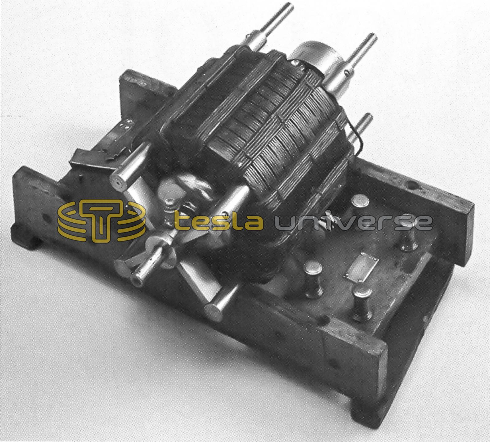 Original Two Phase Ac Induction Motor Of Nikola Tesla
