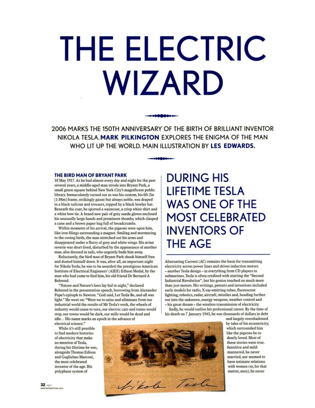 Preview of The Electric Wizard article