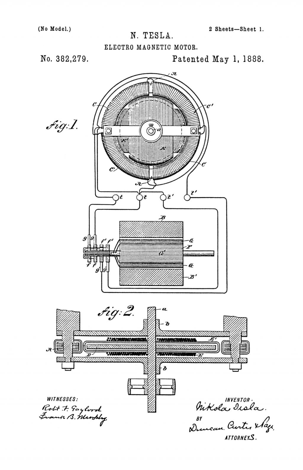 Nikola Tesla Patents