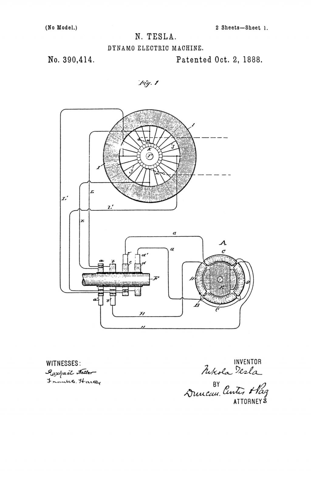 Nikola Tesla Patents