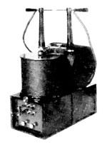Tesla high-frequency high-voltage transformer