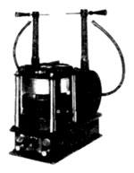 Tesla Transformer with rotary break for wireless
