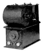 Tesla transformer with mercury interrupter