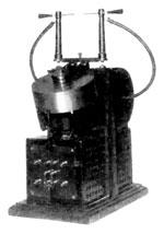 Sealed mercury interrupter Tesla transformer