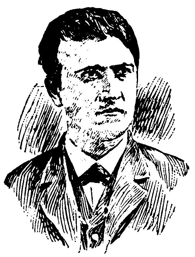 Sketch of Thomas Edison