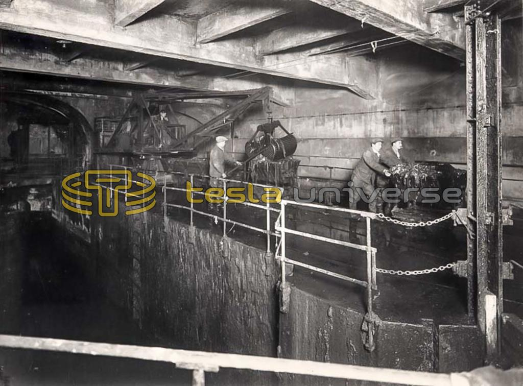 Early New York City sewer workers
