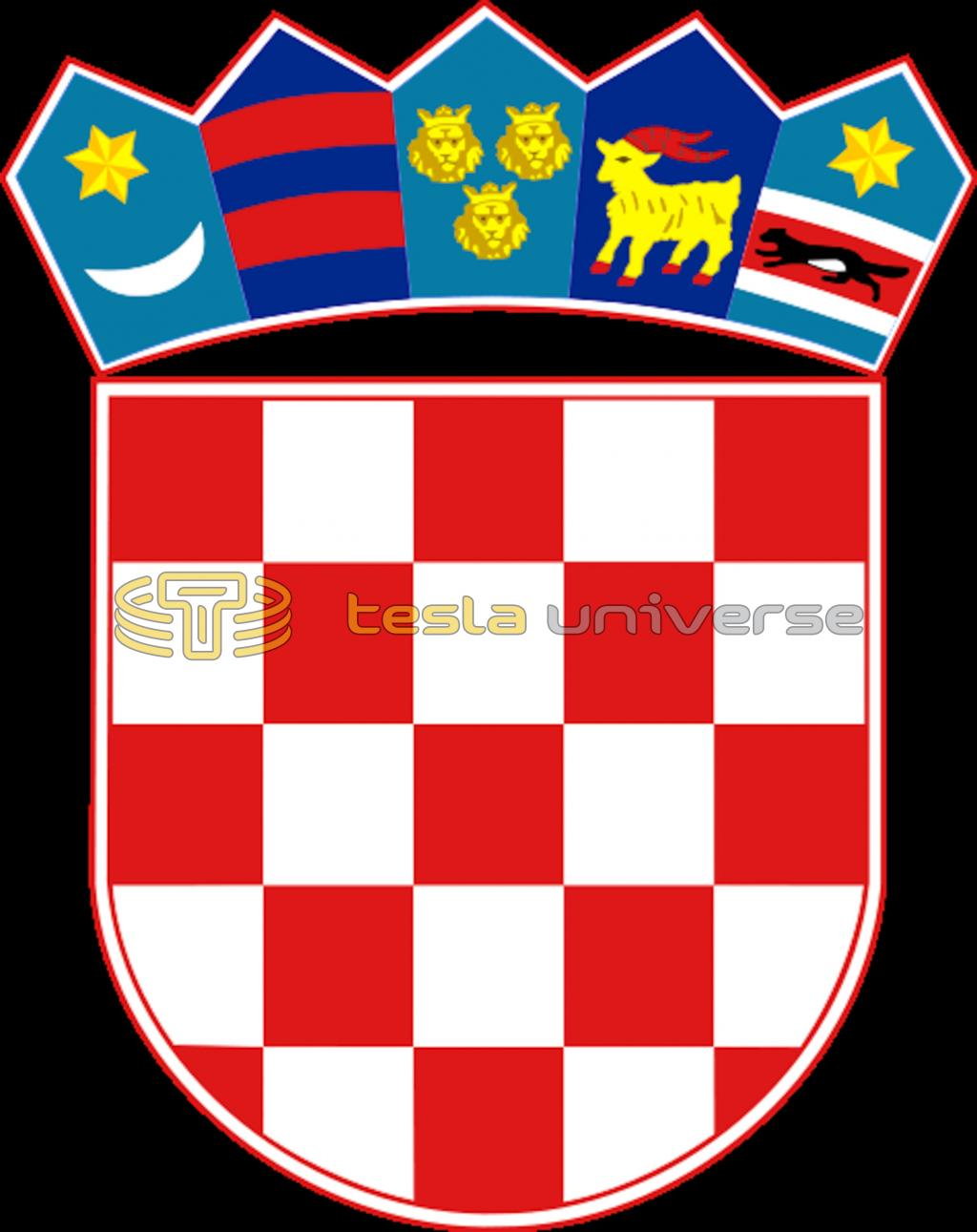 The Croatian coat of arms