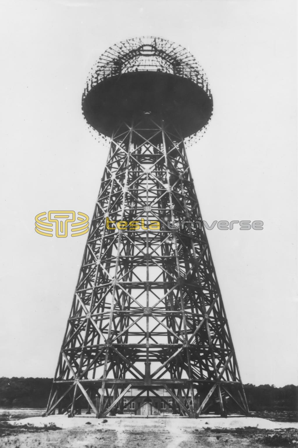 Tesla's tower of the Worldwide Wireless System