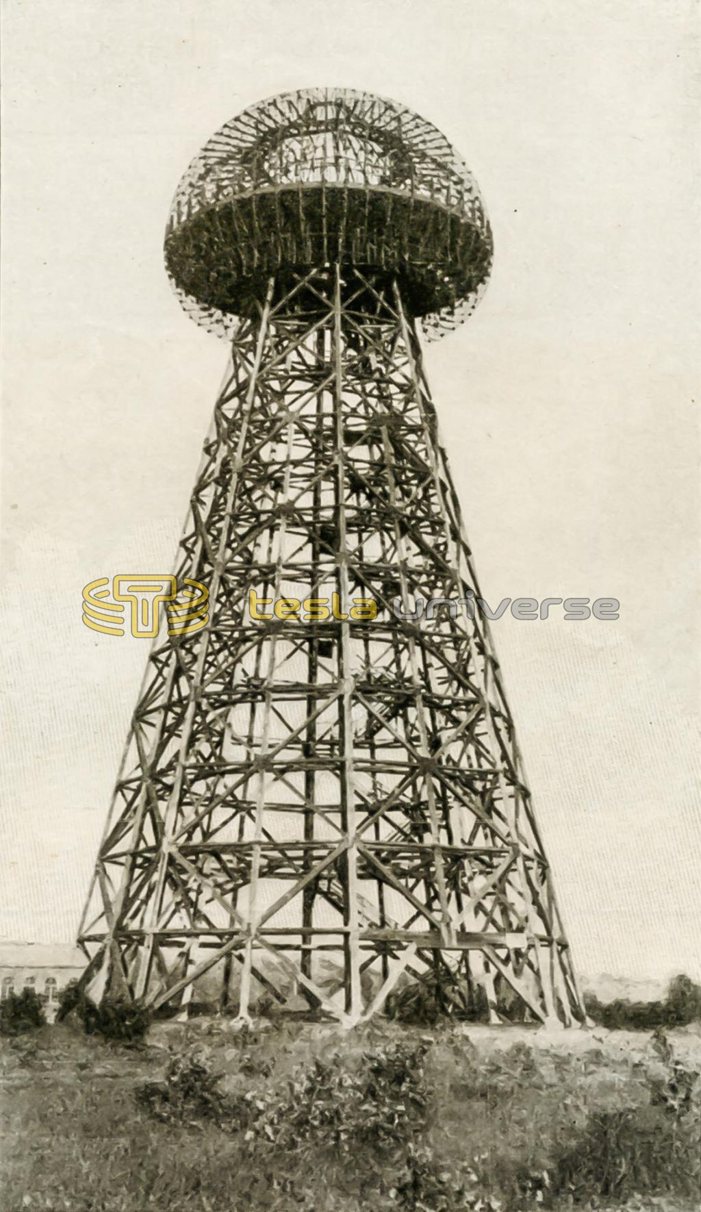 Wardenclyffe tower - Nikola Tesla's dream system of worldwide wireless power