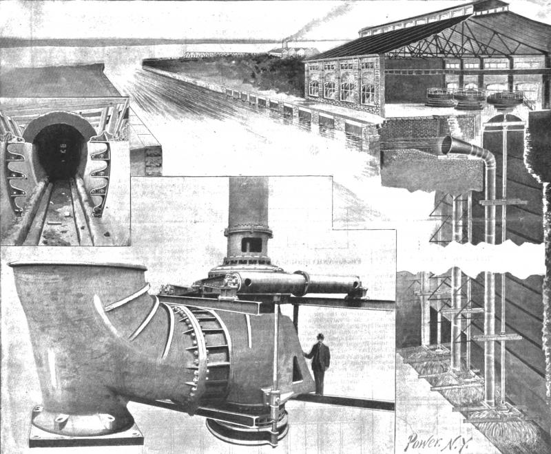 The Power Station at Niagara - Fig. 1