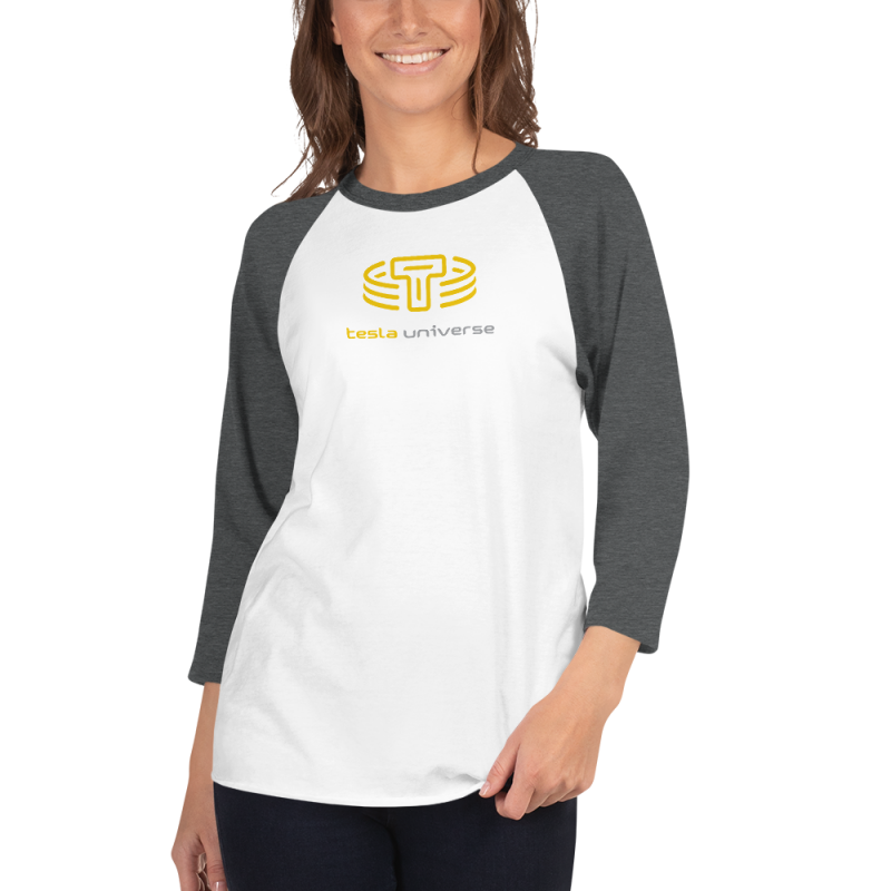 TU Logo Women's 3/4 Sleeve Raglan Shirt
