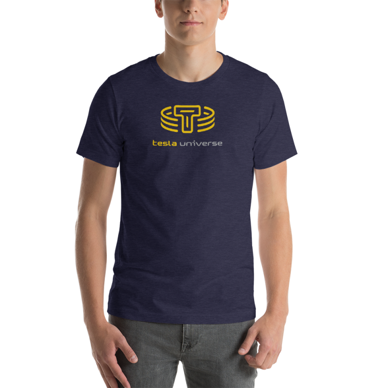 TU Logo T - Heather Midnight Navy