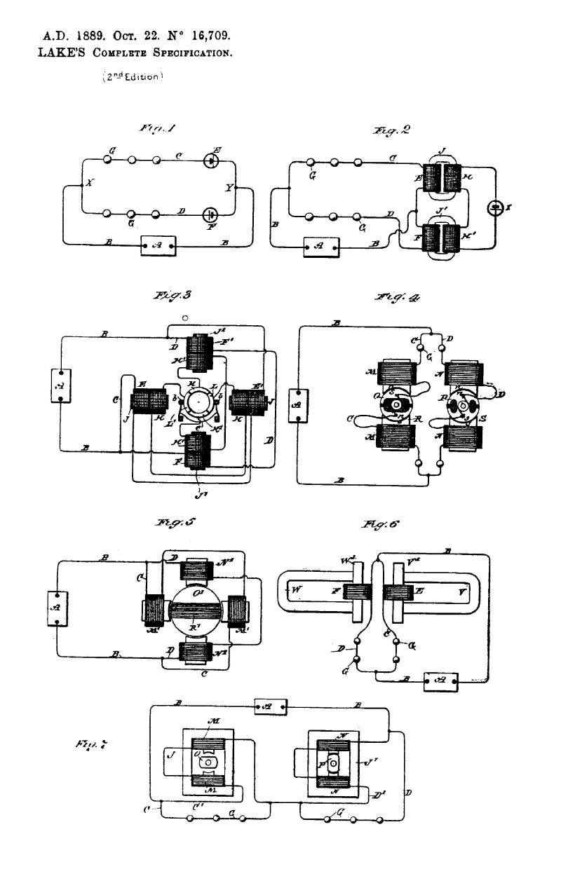 Nikola Tesla British Patent 16,709 - Improvements Relating to the Conversion of Alternating into Direct Electric Currents - Image 1