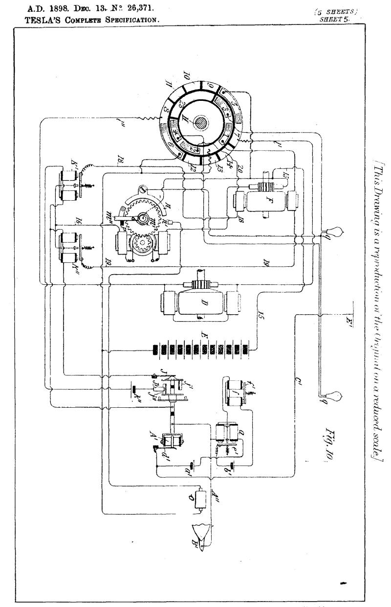 Nikola Tesla British Patent 26,371 - Improvements in the Method of and Apparatus for Controlling the Mechanism of Floating Vessels or Moving Vehicles - Image 2