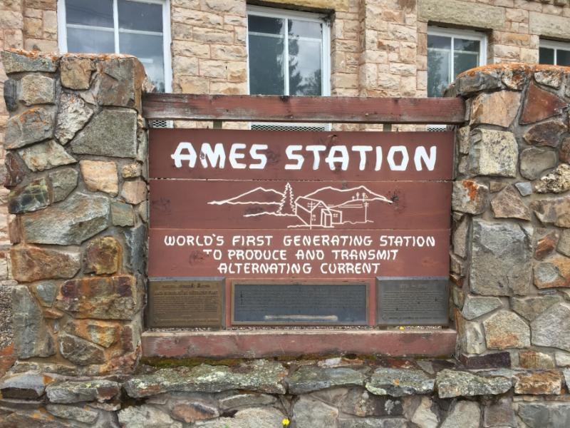 Ames Station near Telluride, CO