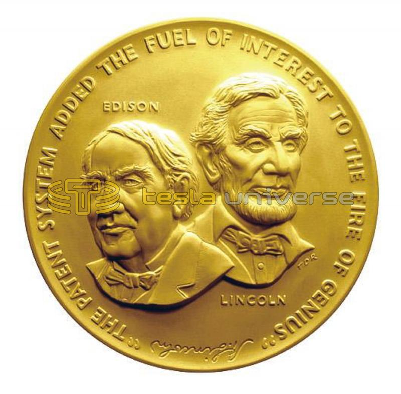 Induction medal of the National Inventors Hall of Fame