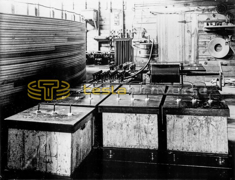 Colorado Springs Experimental Station capacitor bank