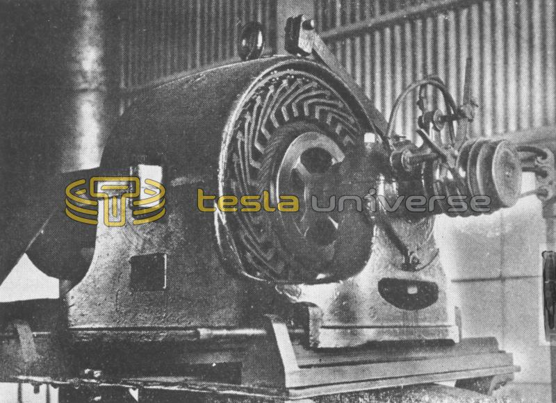 Earliest commercial Tesla motor developed by Westinghouse in 1895