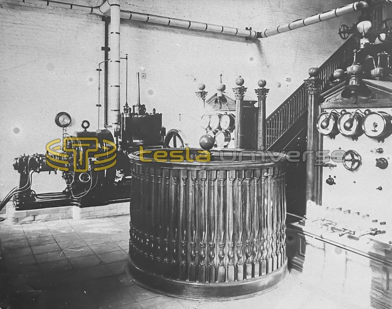 More Westinghouse generators and a spiral staircase for Wardenclyffe tower access