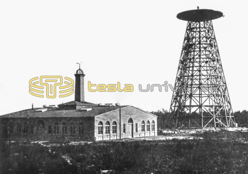 The Tesla Wardenclyffe lab and tower prior to dome installation