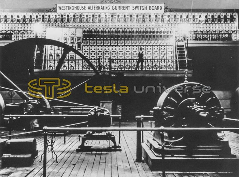 Tesla Westinghouse A.C. switchboard used to power the fairgrounds