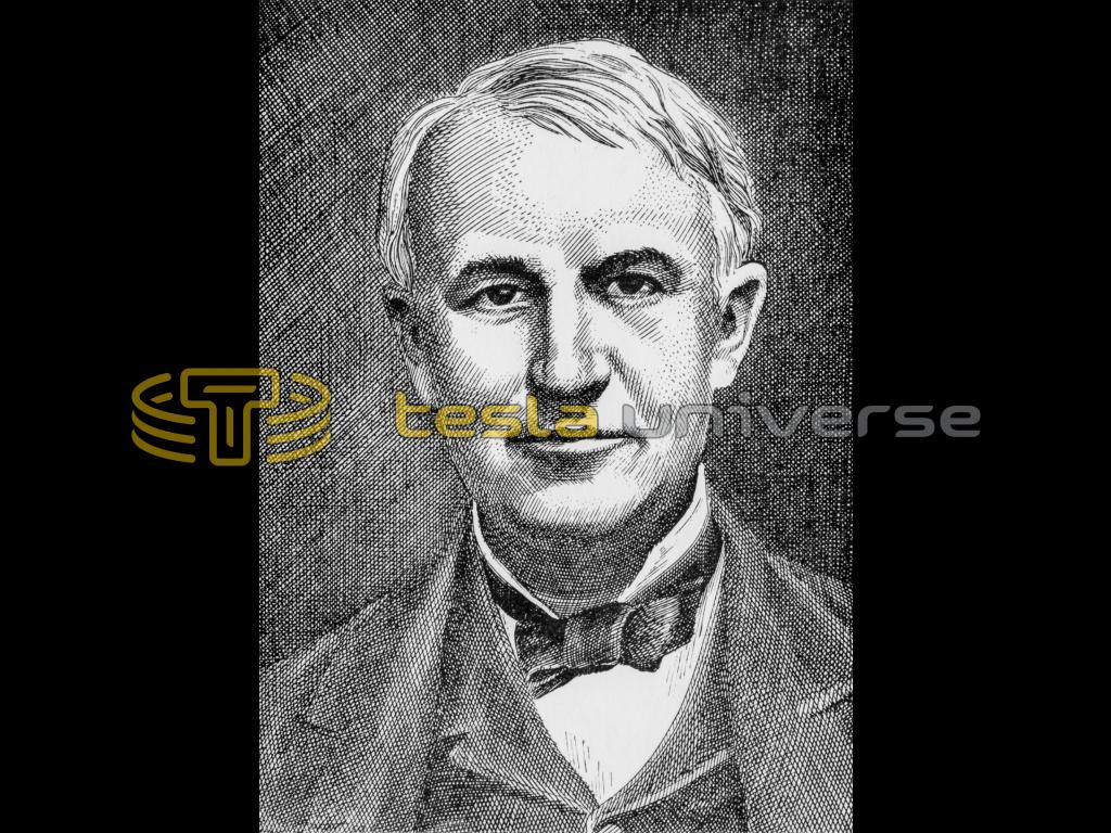 Thomas Alva Edison Nikola Tesla Affiliate Tesla Universe