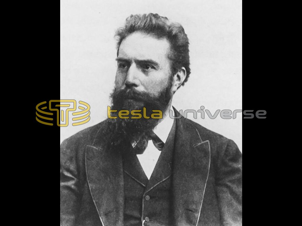 Wilhelm Röntgen, the physicist credited with the discovery of x-rays