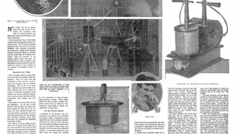 Preview of Nikola Tesla on Electrified Schoolroom to Brighten Dull Pupils article