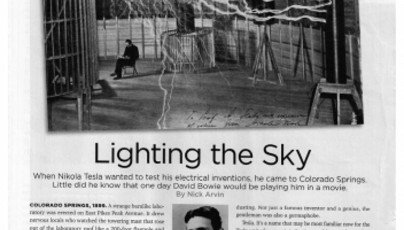 Preview of Lighting the Sky article