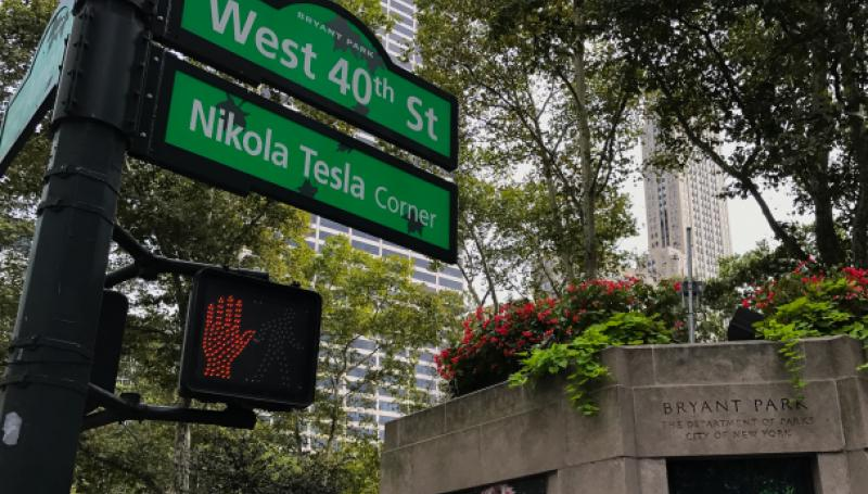Nikola Tesla Corner - New York City