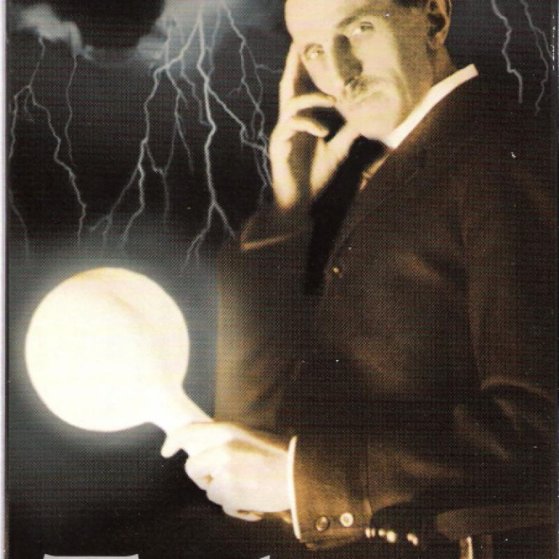 Tesla: Master of Lightning - Front cover