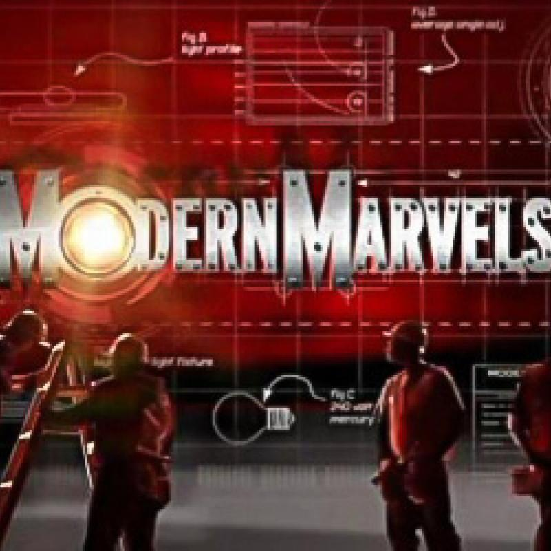 "Graphic from History Channel's ""Modern Marvels"""