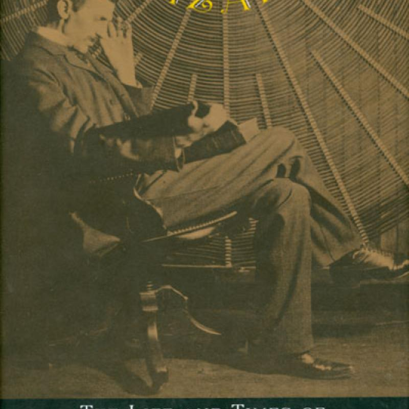 "Cover from ""Wizard - The Life and Times of Nikola Tesla"""