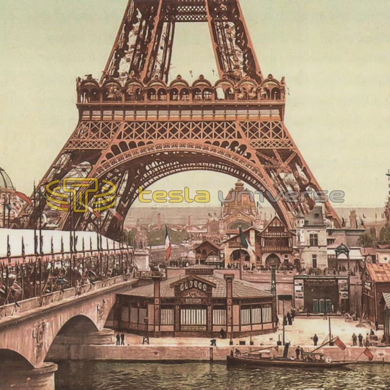 The Universal Exposition in Paris, France