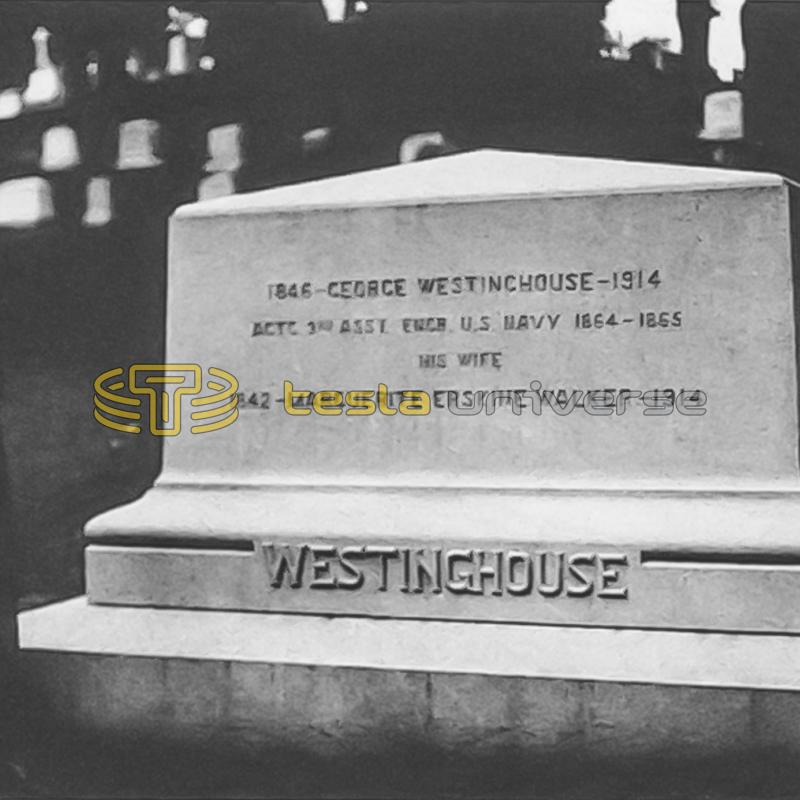 George and Marguerite Westinghouse's grave in Arlington Cemetery