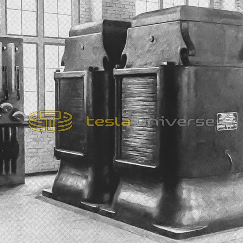 G.E. air-blast transformers built for the Buffalo transmission lines