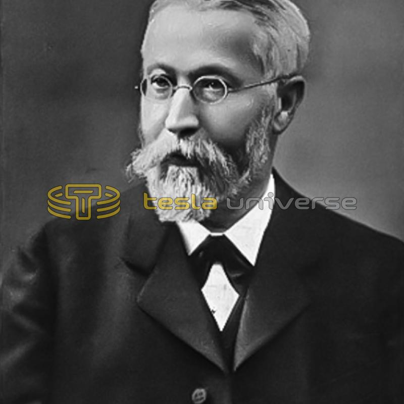 Karl Ferdinand Braun co-winner of 1909 Nobel Prize for physics with Marconi