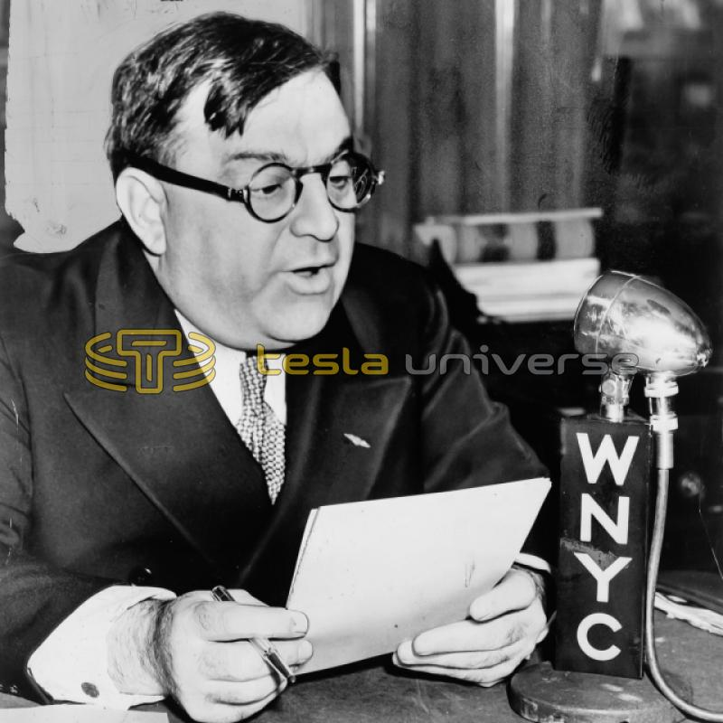 Former New York City mayor, Fiorello La Guardia
