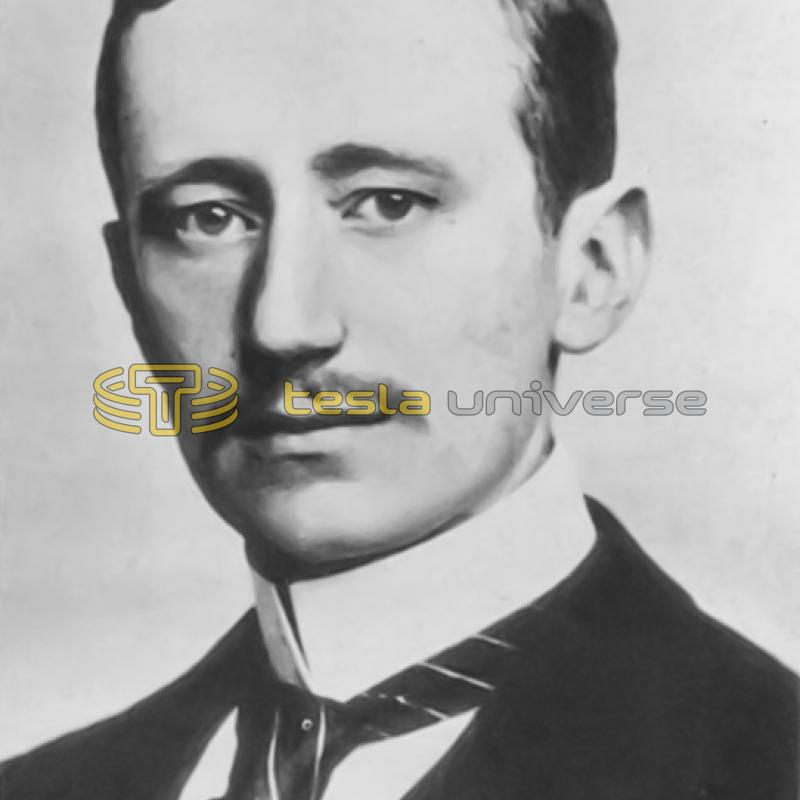 Marchese Guglielmo Marconi, who used Tesla's work in his radio patents