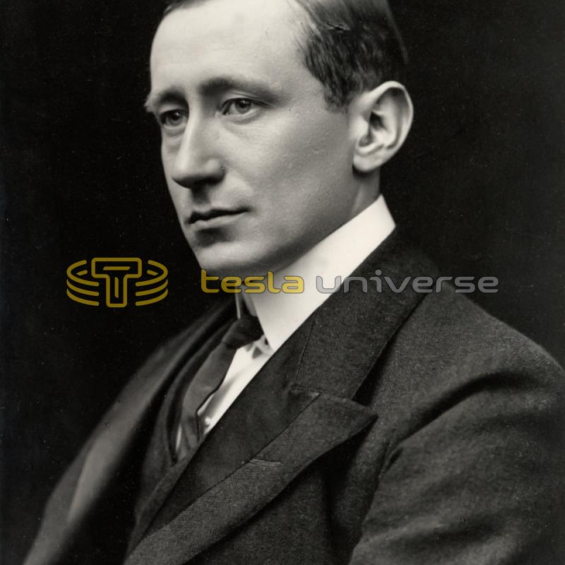 Marchese Guglielmo Marconi who eventually lost out to Tesla for the radio patent